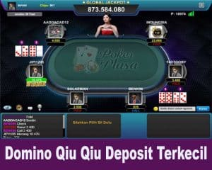 Domino Qiu Qiu Deposit Terkecil