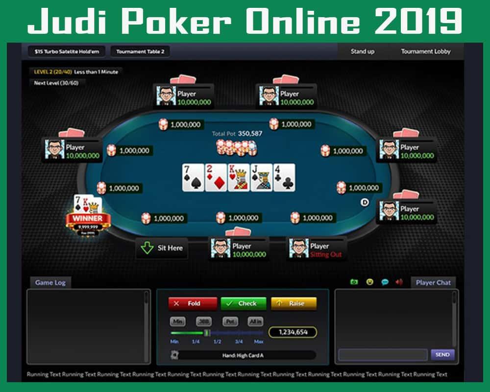 Judi Poker Online 2019